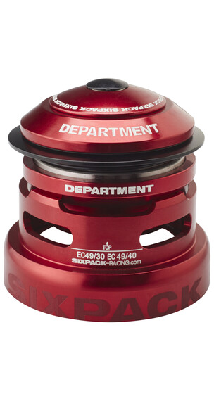 Sixpack Department 2in1 Steuersatz EC49/30 I EC 49/40 red